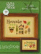 Yearbook - November & December - Cross Stitch Pattern