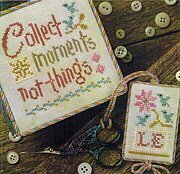 Collect Moments - Flora McSample Snippet - Cross Stitch