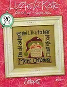 Old School - Santa 2016 - Cross Stitch Pattern