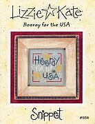 Hooray for the USA - Cross Stitch Pattern