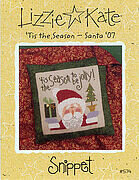Tis the Season - Santa 07 - Cross Stitch Pattern
