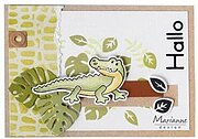 Reptile Background - Craft Stencil