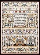 Three Things Sampler - Cross Stitch Pattern