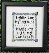 Lost It! - Cross Stitch Pattern