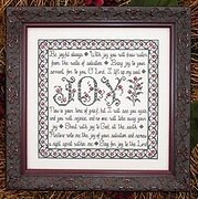 Building Blocks - Joy - Cross Stitch Pattern