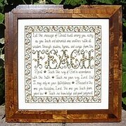 Building Blocks - Teach - Cross Stitch Pattern