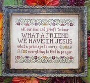 What a Friend We Have in Jesus - Cross Stitch Pattern