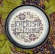 Cherish Friends - Cross Stitch Pattern