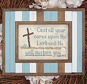 He Will Sustain You - Cross Stitch Pattern