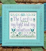 My Light and Salvation - Cross Stitch Pattern