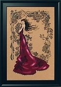 Lady of Mystery - Cross Stitch Pattern