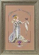 Lady Mirabilia - Cross Stitch Pattern