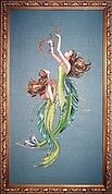 Mermaids of the Deep Blue - Cross Stitch Pattern