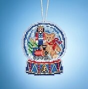 Toy Shop Globe - Beaded Cross Stitch Kit