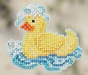 Rubber Ducky - Beaded Cross Stitch Kit