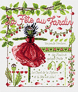 La Fete au Jardin (Garden Party) - Cross Stitch Pattern