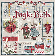 Jingle Bells - Christmas Cross Stitch Pattern