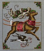 Cupid - Christmas Eve Couriers - Cross Stitch Pattern