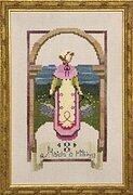 Eight Maids a Milking - 12 Days of Christmas - Cross Stitch