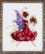 Geranium - Cross Stitch Pattern