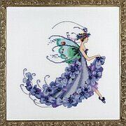 Wisteria - Cross Stitch Pattern
