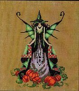 Luna (Bewitching Pixies) - Cross Stitch Pattern