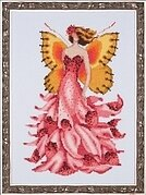Foxglove - Pixie Blossoms Collection - Cross Stitch Pattern