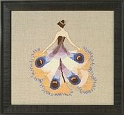 Miss Moth - Intriguing Insects - Cross Stitch Pattern