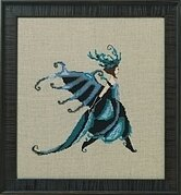 Miss Beetle - Intriguing Insects - Cross Stitch Pattern