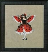 Miss Ladybug - Intriguing Insects - Cross Stitch Pattern