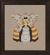 Miss Queen Bee - Cross Stitch Pattern