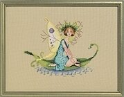 Pond Lily - Cross Stitch Pattern