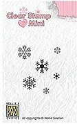 Minis Snowflakes - Nellie's Choice Clear Stamp
