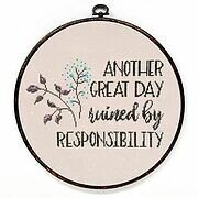 Another Great Day - Cross Stitch Pattern