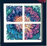 Solarize Dahlia - Cross Stitch Pattern