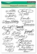 Treasured Sentiments - Clear Stamp