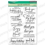 Special Sentiments - Penny Black Clear Stamp