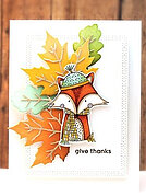 Hugs and Cuddles - Autumn Clear Stamp