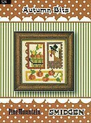 Autumn Bits - Smidgen - Cross Stitch Pattern