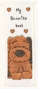 Biscuit Bookmark - Popcorn the Bear - Cross Stitch Kit