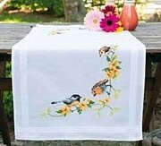 Songbirds - Table runner - Cross Stitch Kit