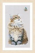 Forest Cat - Cross Stitch Kit