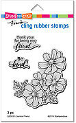 Cosmos Friend - Cling Rubber Stamp