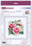Tree Peony - Cross Stitch Kit