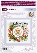 Compass - Cross Stitch Kit