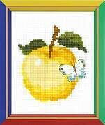 Apple - Cross Stitch Kit