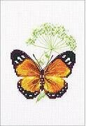 Caraway and Butterfly - Cross Stitch Kit