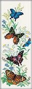 Flying Butterflies - Cross Stitch Kit