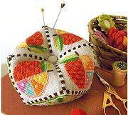 Citrus Biscornu - Cross Stitch Pattern