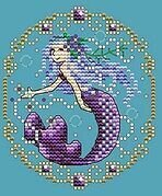 February - Treasures of the Deep - Cross Stitch Pattern